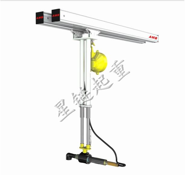 弹簧平衡器式反作用力臂