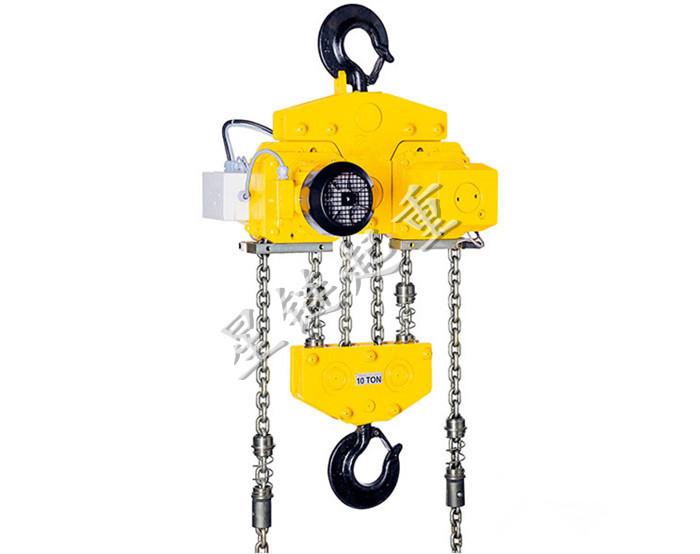 耶鲁双子星电动环链葫芦